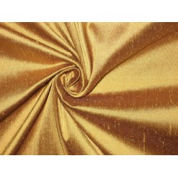 "SILK Dupioni FABRIC 44"" Gold"