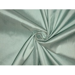 SILK Dupioni FABRIC Light pastel Green colour