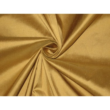 """Pure SILK Dupioni FABRIC Pure Golden Glow 54"""" wide sold by the yard"""