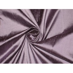 "100% Pure SILK Dupioni FABRIC Lilac with Black Shot 54"" wide sold by the yard"