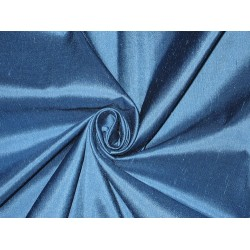 "100% Pure SILK Dupioni FABRIC Night Blue 54"" wide DUP#85[1] sold by the yard"