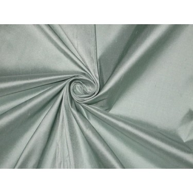 SILK Dupioni FABRIC Light pastel green colour sold by the yard