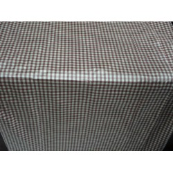 "SILK Dupioni FABRIC Amethyst /white plaid 54"" **"