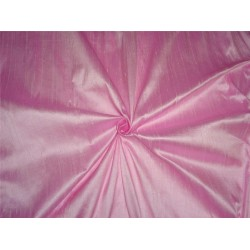 "100% PURE SILK DUPIONI FABRIC BABY PINK 54"" WITH SLUBS*"