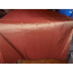 "100% PURE SILK DUPIONI FABRIC ICY SANDALWOOD 54"" WITHOUT SLUBS*"
