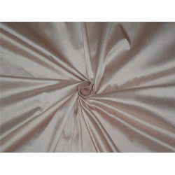 "100% PURE SILK DUPIONI FABRIC LIGHT PINK COLOR 54"" WITHOUT SLUBS*"
