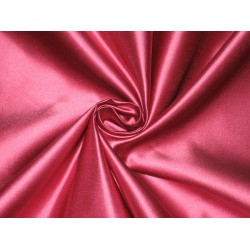 66 MOMME SILK DUTCHESS SATIN FABRIC Hot Pink color 54""