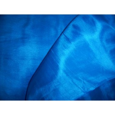 """Silk thin fabric[turquoise blue 44"""" wide"""