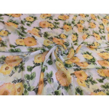 silk  digital printed fabric-resortwear