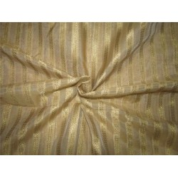 Silk Cotton Chanderi Fabric gold  x metallic gold 44'' wide sold by the yard