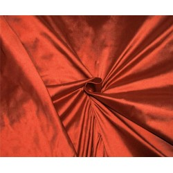 """100% Silk Dupion fabric Rusty Red color 54""""wide DUP#260[1]"""
