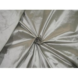 """100% Silk Dupion fabric Rich Grey color 60""""wide DUP#260[2]"""
