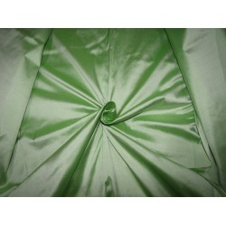 """100% PURE SILK DUPIONI  FABRIC 54"""" width pastel  green DUP279 by the yard"""