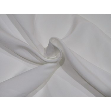 """100% polyester fabric  WIDE width 96"""" white"""