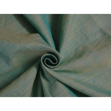 """two tone linen{iridescent} Blue x yellow 54"""" wide sold by the yard"""
