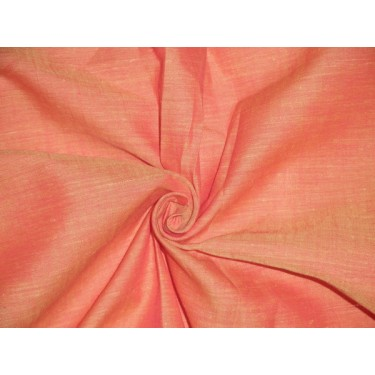 two tone linen{iridescent} firefly orange x red