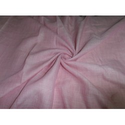 two tone linen{iridescent} fabric pink x white