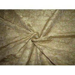 Brocade Fabric gold x gold color 44''wide  BRO667[2]