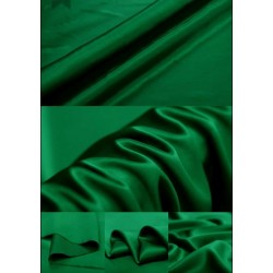 11 MOMME  SILK HABOTAI EMERALD GREEN COLOR 44''WIDE BY THE YARD