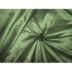 "100% pure silk dupioni fabric dusty green color 54"" DUP#264"