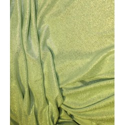 Lycra shimmer silver lurex fabric 58''wide mint green color FF#15B[1]