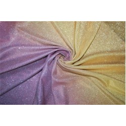 Ombre shimmer fabric lycra shaded purple and gold color 58''WIDE FF8[1]