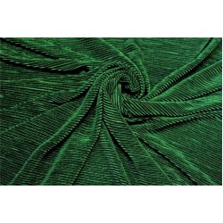 Crushed polyester satin fabric emerald green color 59''wide FF10A[1]