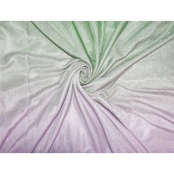 Ombre shimmer fabric lycra shaded green and silver color 58''WIDE FF7[1]
