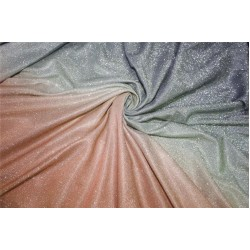 Ombre shimmer fabric lycra shaded Pink grey and silver color 58''WIDE FF7[2]