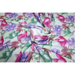 Scuba Crepe Stretch Jersey Knit Dress fabric 58 wide digital print