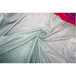 Ombre shimmer fabric lycra shaded silver grey and silver color 58''WIDE FF8[2]