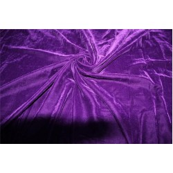 """Micro Velvet  Fabric INK BLUE color 44"""" wide"""