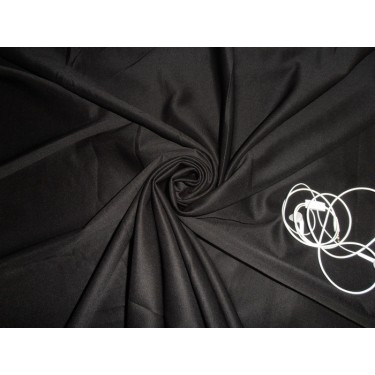 """black neoprene/ scuba fabric 59"""" wide-thick by the yard"""