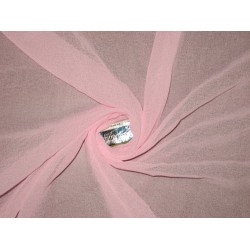"""GEORGETTE FABRIC Baby Pink color 44"""""""