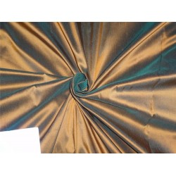 dupion silk fabric green x burnt orange pkt # 244[1]
