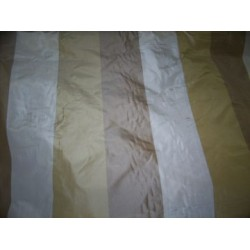 """Silk taffeta excellent stripes -4 inch wide each stripe 54"""" wide sold by the yard"""