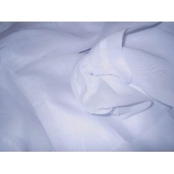 "100% 2/100's x 2/100's  pure cotton voile 58"" wide-white"