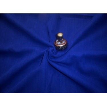 cotton voile -royal blue {dobby weave}