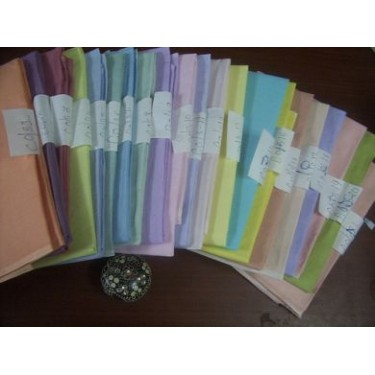 cotton organdy pastel shades-new collection 2013