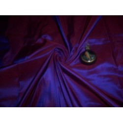 """Blue/pink iridescent Silk taffeta 54"""" wide sold by the yard"""
