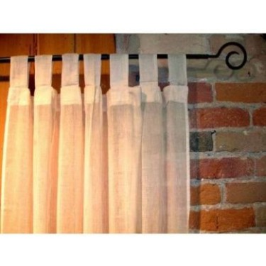 100% Cotton Gauze Tab Curtain, 44 inches X 108 inches