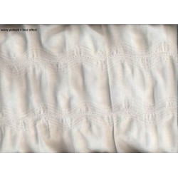 high quality cotton fabric with new pintucks 54