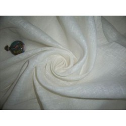 natural colour pure linen fabric 58""