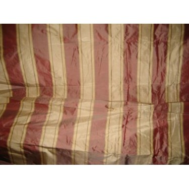 """silk taffeta awesome wine stripes 54"""" wide sold by the yard"""
