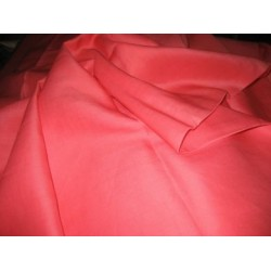 """Coral tomato linen 54"""" wide sold by the yard"""
