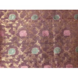 Candy Pink ,Motif Color Metallic Gold,pink & green  floral