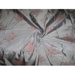 "Extremely high quality silk taffeta silk 54"" embroidered"