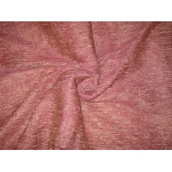36 INCHES WIDE~ GOLD dark pink silk mettalic tissue organza fabric
