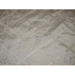 ivory diamond pintuck design ~with lace embroidered