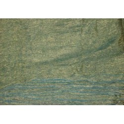 36 INCHES WIDE~ GOLD Sea green colour